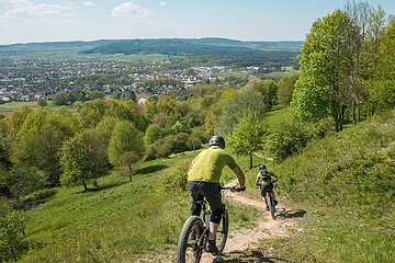 Mountainbike in Neumarkt